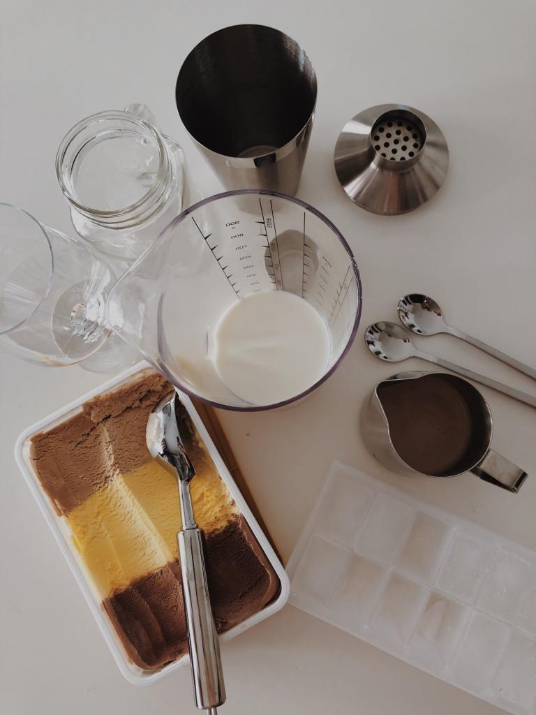 Eiskaffee Zubereitung